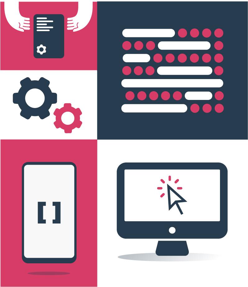 Illustration pour une palette de fonctionnalités élargie